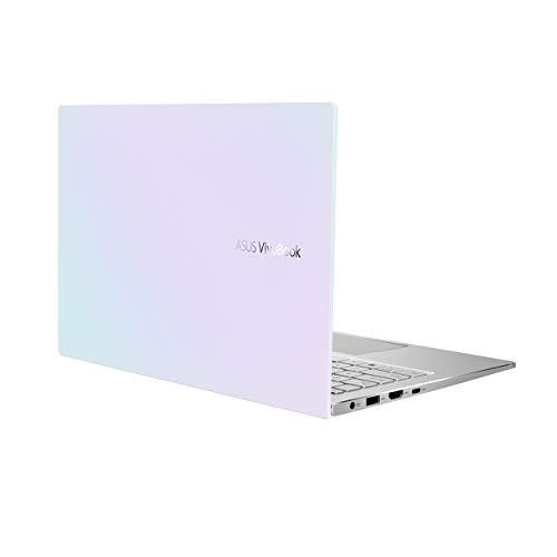 "ASUS VivoBook S13 Thin and Light Laptop, 13.3"" FHD Display, Intel Core i5-1135G7 CPU, 8GB LPDDR4X RAM, 512GB PCIe SSD, Windows 10 Home, Fingerprint Reader, Dreamy White, S333EA-DH51-WH"