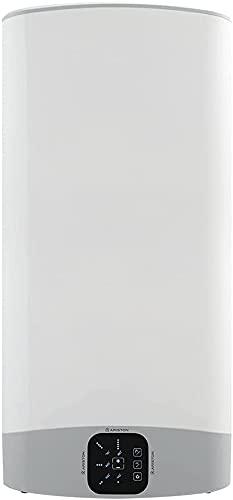 Ariston VELIS EVO 80 litres - Chauffe-eau électrique Ultra-Plat, Multi-positions - 15% d'Economies d'Energie - Conçu et fabriqué pour être installé en France