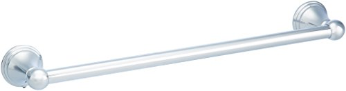 AmazonBasics AB-BR810-PC Modern Towel Bar, 18-inch, Polished...