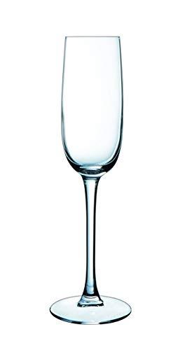 Luminarc Versailles - Set di 6 bicchieri da champagne, 16cl