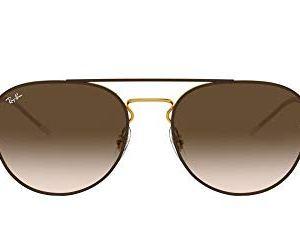 Ray-Ban Women's Rb3589 Square Metal Sunglasses 53