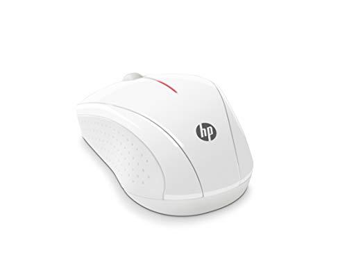 HP X3000 - Ratón inalámbrico óptico, Color Blanco