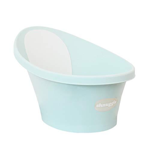 Shnuggle(シュナグル) ベビー お風呂 ベビーバス [ミントブルー] 0ヶ月~12ヶ月 シンクで使える 赤ちゃん ...