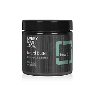 Every Man Jack Beard Butter- Subtle Sea Salt Fragrance - Rejuvenates, Hydrates, and Styles Dry,...