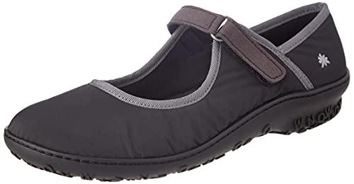 Art Antibes, Zapatos Planos Mary Jane Mujer, Black, 42 EU