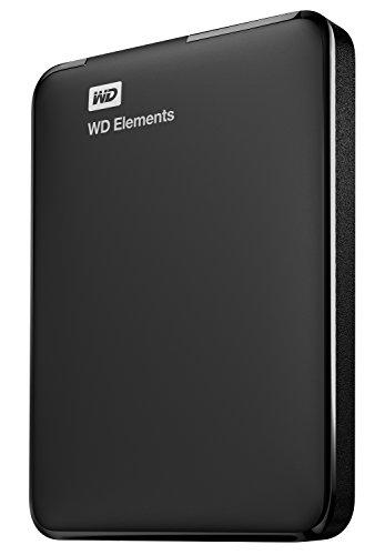 WD Elements - Disco duro externo portátil de 1 TB con USB 3.0,...