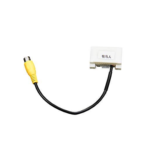 Adattatore cablaggio per Jeep Wrangler JK retromarcia telecamera di retromarcia di ingresso video per cablaggio radio in-dash spina AV per display