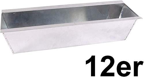 CB Home {aade5153128356130b04ce85642b9f0840500813acdd325638622154d40dbc4e} Style 12 x Blumenkasten Pflanzkasten Set Einsatz für Europaletten Balkonkasten Palette Topf (12)