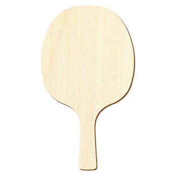 Truelle de tennis de table en bois - Décoration bricolage 3-50 cm - Taille : 43 cm - Lot de 1