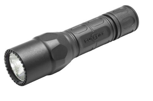 Surefire G2X Pro dual-output LED-Taschenlampe, Schwarz