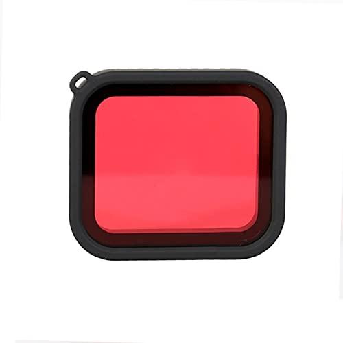 JIJIONG Filtro da Immersione Rosso per Custodia Impermeabile Protezione Filtro per Obiettivo da Immersione Uerwater per GoPro Hero Black 5 6 7 Accessori per Action Cam ( Color : Red )