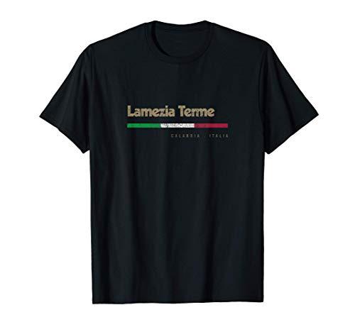 Lamezia Terme Citt Italiana Retr Bandiera Italia Maglietta