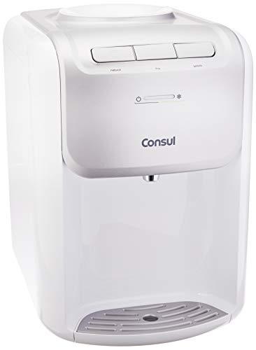 Bebedouro Consul (CJD20ABA) - 110V - Branco - Alta Capacidade de Refrigeração e 3 Níveis de Temperatura