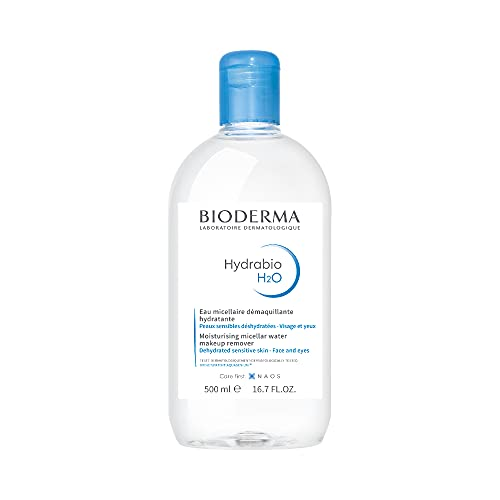 Bioderma - Hydrabio H2O - Micellar Water - Cleansing and Make-Up Removing - for Dehydrated Sensitive Skin , 16.91 Fl Oz (Pack of 1)