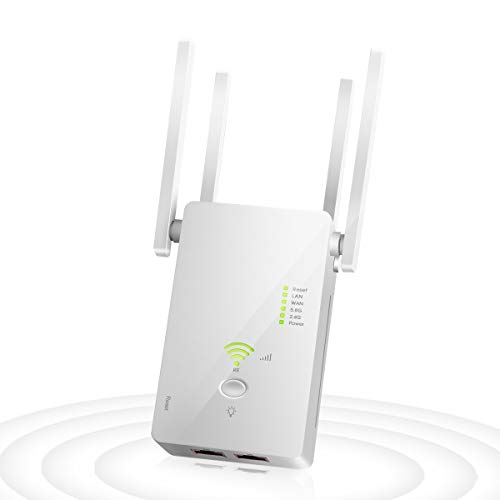 Ripetitore WiFi Wireless, 1200 Mbps Amplificatore...