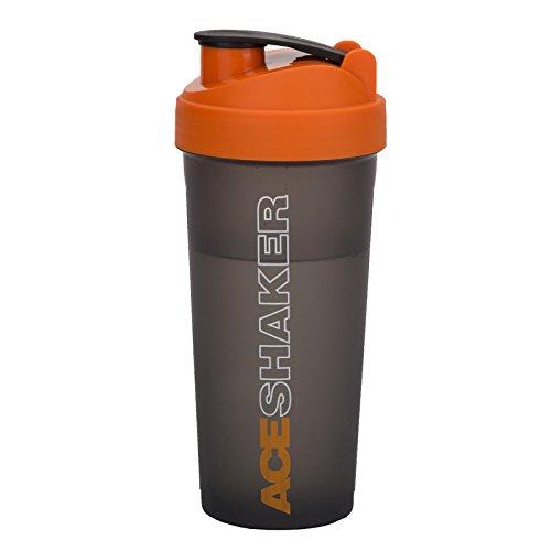 Jaypee plus Ace Shaker with Blending Ball, 700 ML, Grey Orange