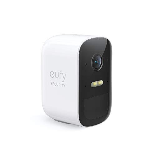 Eufy Security eufyCam 2C cámara adicional del sistema inalámbrico de videovigilancia para el hogar, requiere HomeBase 2, 180 días de duración de la batería, HD 1080p, sin tarifas mensuales