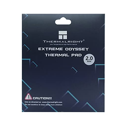 One enjoy Thermalright Thermal Pad 12.8 W/MK, 120x120x2mm, Silicona Pad Termico para disipador térmico/GPU/CPU/LED (2mm)