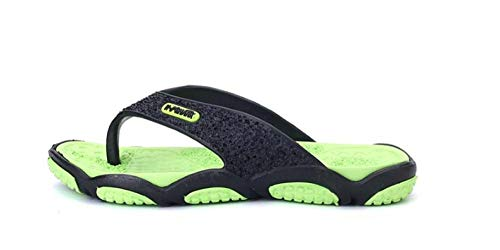 InfraditoInfradito maschile nero sandali casual estivi maschio pantofole da spiaggia di terra moda...