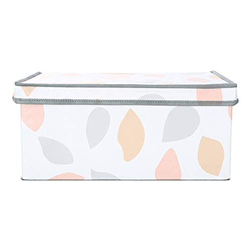 MINISO Small Foldable Fabric Storage Box with Lid TODAY OFFER ON AMAZON