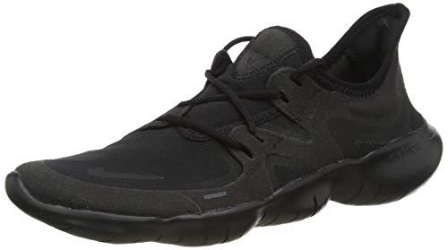 Nike Herren Free RN 5.0 Laufschuh, Schwarz, 38.5 EU