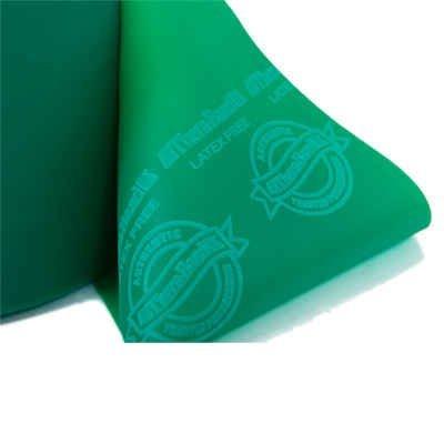 Thera-Band, fascia da ginnastica, da allenamento, senza lattice, verde, 2,0m