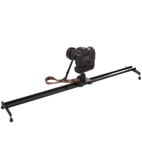 Koolertron プロフェッショナル動画製作120CMスライダー+ミニボールヘッド ビデオ撮影レール安定化システム For DV DSLR Video Camera Such As Canon 550D 500D 600D 1100D 60D 50D 40D 5D 5DII 5DIII Nikon D300 D5100 D3100 D3000 D5000 D90 D7000 D700 J1 V1 Sony A57 A55 A35 NEX7 NEX5N NEXC3 Fuji, Olympus,Pentax K01 K5 Q KR KX K7 KM K20D K200D K10D K100D X90 X70 Panasonic GF1 GF5 GF2 GF3 GX1 G3 GH2GK Samsung NX100 NX200 NX11 And So On