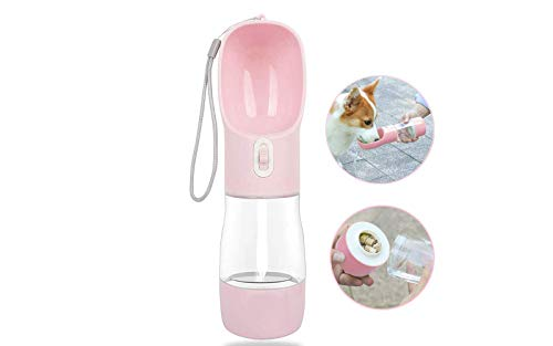 MaoCG Dog Water Bottle for Walking, Multifunctional and Portable...