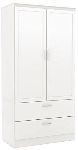 wardrobe with adjustable shelves