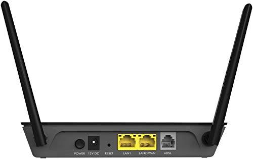 Netgear D1500 Modem con Router Integrato, 2.4 GHz,...