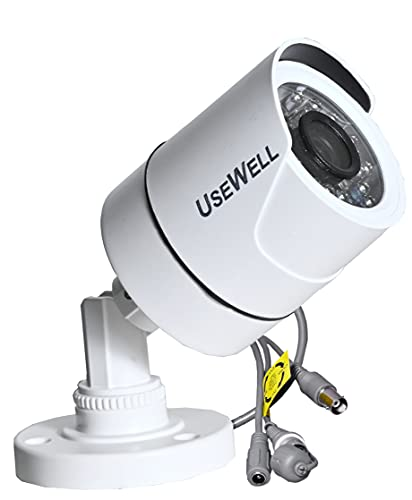 USEWELL Wired 1080p HD 2MP Security Camera, White
