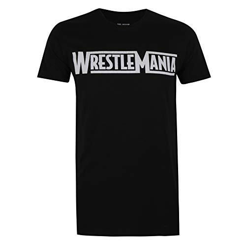 WWE Wrestlemania T-Shirt, Black, XX-Large Uomo