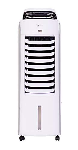 Haverland BAE | Rafraichisseur d'Air Évaporatif Mobile | 35 m² | Fonction Humidificateur | Silencieux | 8 Vitesses | Volets Oscillants | 120W | Grande Capacité Réservoir 13L