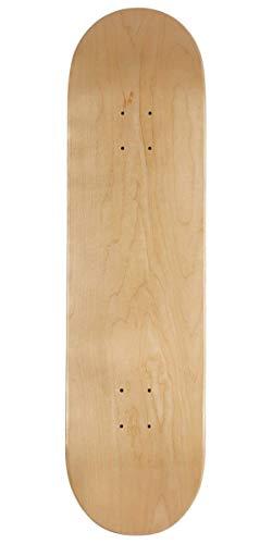 CCS Blank Skateboard Deck Natural Wood 8.25'