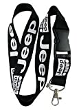 Jeep Lanyard Keychain Badge Holder by Luckystone