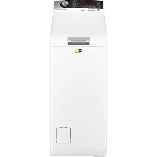 AEG L8TE84565 Waschmaschine Toplader / Energiesparender Waschvollautomat A+++ / Mit ProSense-, ProSteam- und ÖkoMix-Technologie / 40 cm breit mit 6 kg Fassungsvermögen