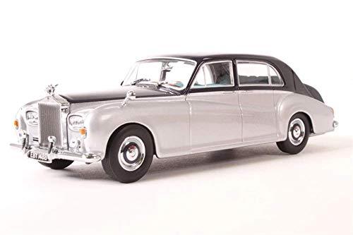 Oxford Diecast 43RRP5001 Rolls Royce Phantom V James Young Navy_Silver