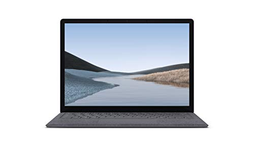 """Microsoft Surface Laptop 3 – 13.5"""" Touch-Screen – Intel Core i5 - 8GB Memory - 128GB Solid State Drive (Latest Model) – Platinum with Alcantara 4"""