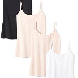 Amazon Essentials Women's 4-Pack Slim-Fit Camisole 11