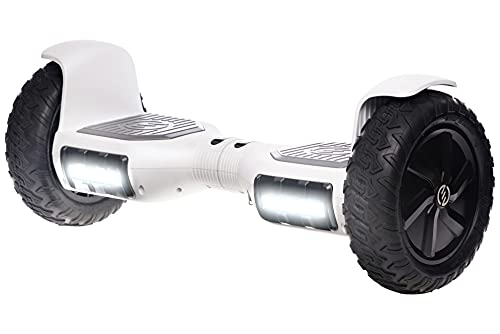 """RIDE SWFT Sonic Hoverboard Self Balancing All Terrain Scooter,10"""" Off Road Tires, Top Speed of 9..."""