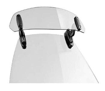 Puig 6320W Visera Multiregulable Clip-on, Transparente