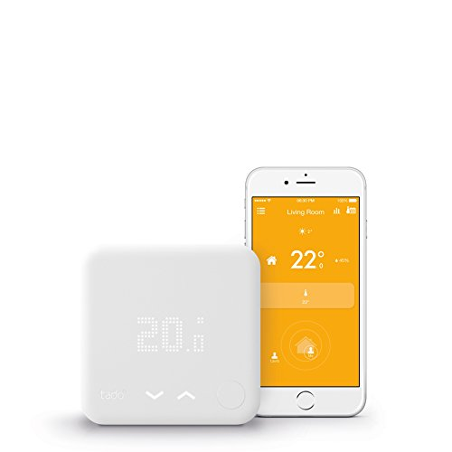 tado° Smart Thermostat Starter Kit (v3) - intelligent heating control with geofencing via smartphone