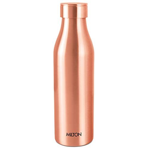 Milton Copper Charge 1000 Water Bottle, Set of 1, 960 ml, Copper,Brown