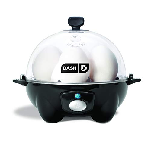 DASH black Rapid 6 Capacity Electric Cooker for...