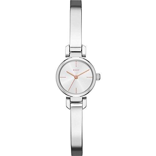 DKNY Damen Analog Quarz Uhr mit Edelstahl Armband NY2627