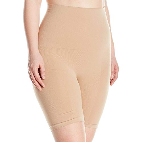 Instant Shaping Women's Hi Waist Chinching Long Leg-Plus Size