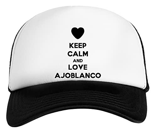Keep Calm and Love Ajoblanco Gorra De Béisbol Unisex Niños
