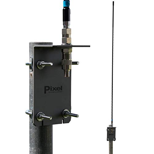 Pixel Technologies AFHD-4 AM FM HD Radio Antenna works with Coaxial RG6 Cable, Omnidirectional and Long Range Antenna, Attic or Outdoor Installation