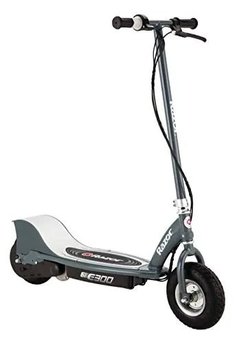 Razor E300 Electric Scooter - 9' Air-filled Tires, Up to 15 mph and 10 Miles Range