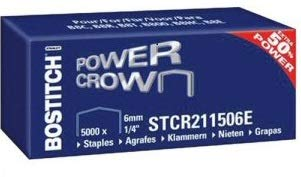 BOSTITCH STCR211506Z - Punti metallici (dimensione graffetta: L=6 mm, 1/4') (versione adatta:...